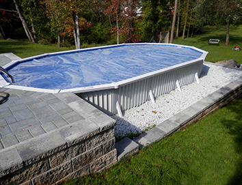 Semi Inground Pool Cover